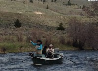 Happy Anglers and happy dogs on the Madison River